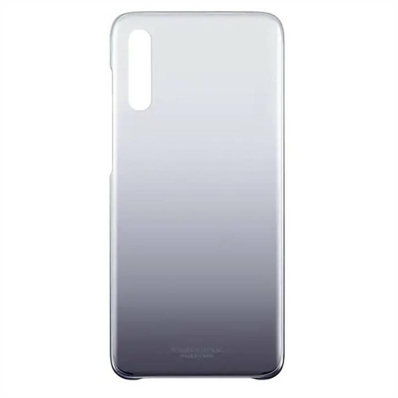 Kryt na mobil Samsung Gradation Cover pro Galaxy A70 (EF-AA705CBEGWW) černý