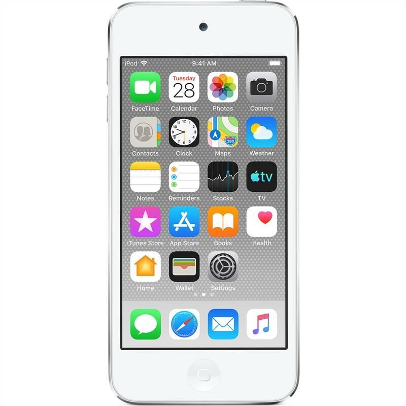 MP3 přehrávač Apple iPod touch 128GB (MVJ52HC/A) stříbrný