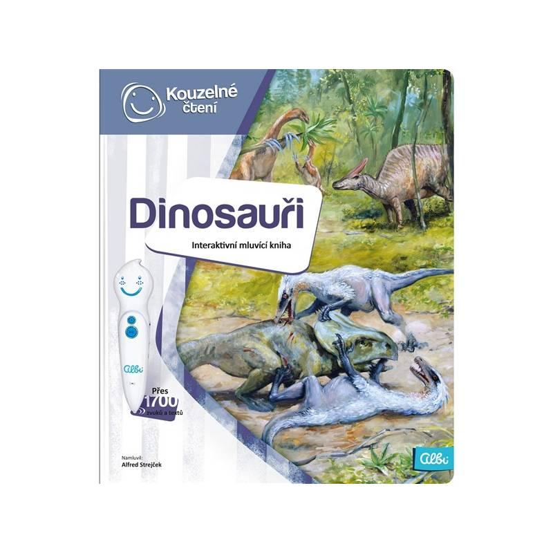 Kúzelné čítanie Albi Kniha Dinosauři