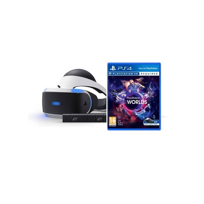 Okuliare pre virtuálnu realitu Sony PlayStation VR + Kamera + VR WORLDS (PS719880967) + Doprava zadarmo