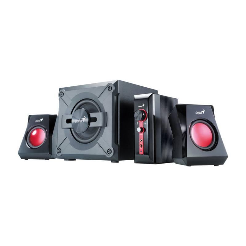 Reproduktory Genius GX Gaming SW-G2.1 1250 (31730980100) čierna/červená