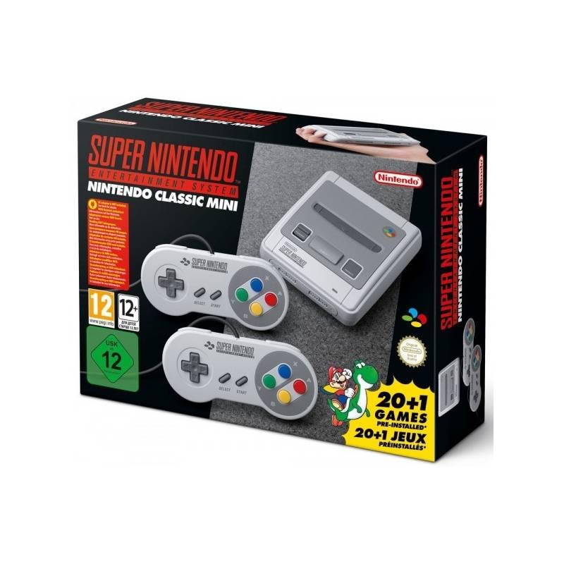 Herná konzola Nintendo Classic Mini: SNES (NICH015)