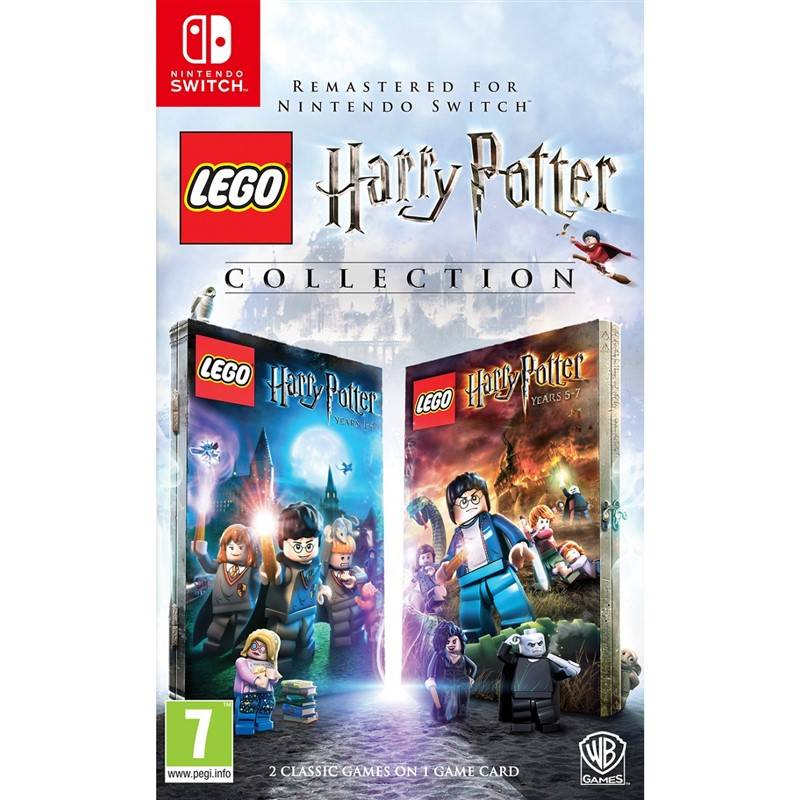 Hra Ostatní Nintendo Switch LEGO Harry Potter Collection (5051892217231)