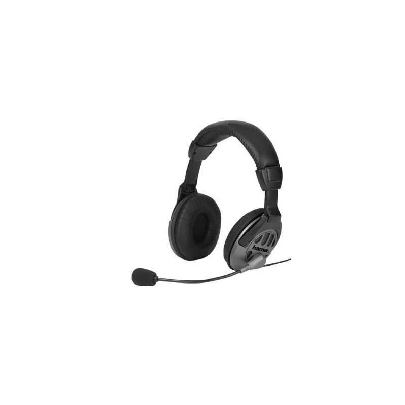 Headset Hama CS-408 (42408) čierny/sivý