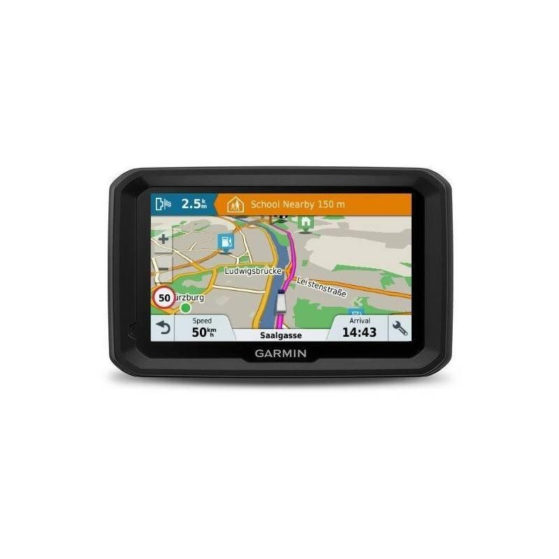 Navigačný systém GPS Garmin dezl 580T-D Lifetime Europe45 čierna