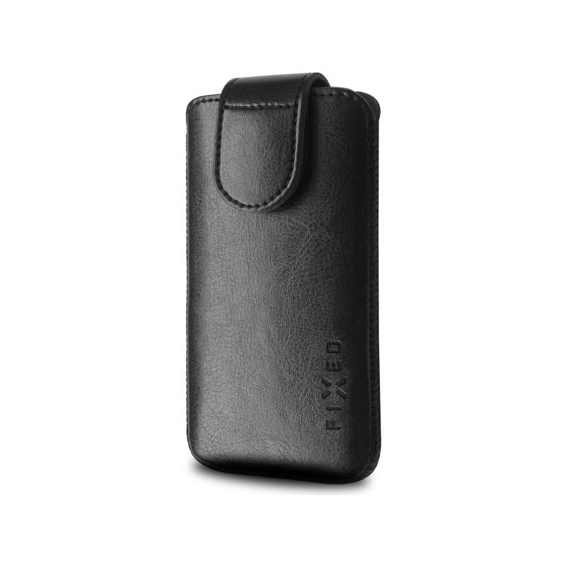"Puzdro na mobil flipové FIXED Sarif 5XL+ (vhodné pro 5,2"" - 5,8"") (RPSFM-001-5XL+) čierne"