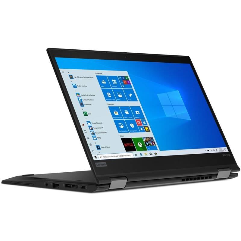Notebook Lenovo ThinkPad X13 Yoga (20SX001HCK) čierny