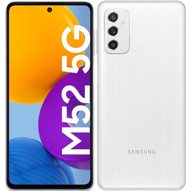 Mobilný telefón Samsung Galaxy M52 5G (SM-M526BZWDEUE) biely
