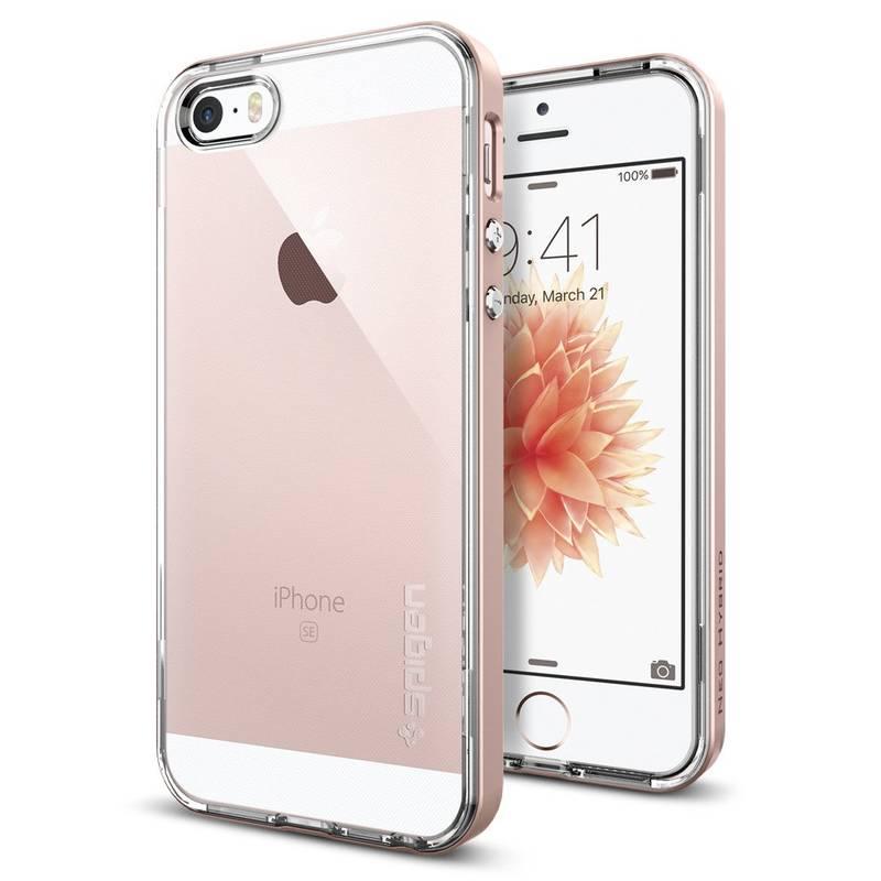 Kryt na mobil Spigen Neo Hybrid Apple iPhone 5/5s/SE - rose gold (041CS20183)