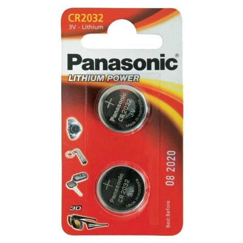 Batéria Panasonic Lithium Power, CR2032, 2 ks (3901)