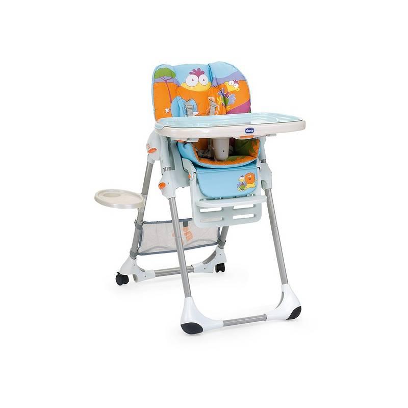 Jedálenská stolička Chicco Polly se 2 kolečky, Safari | HEJ sk