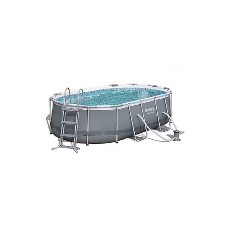 Bazén Bestway Steel Frame Pool 424 x 250 x 100 cm, 56620