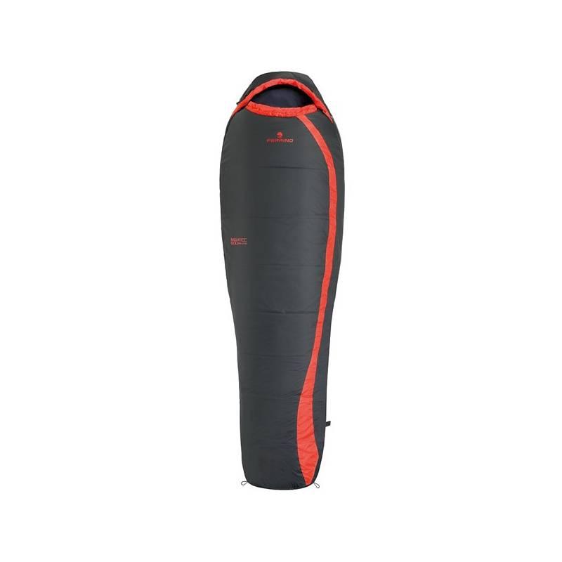 Spací vak Ferrino NIGHTEC 800 - levý čierny/červený + Doprava zadarmo