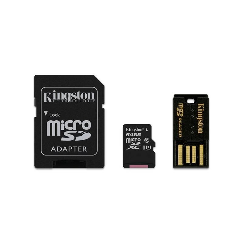 Pamäťová karta Kingston Mobility Kit 64GB UHS-I U1 (30R/10W) (MBLY10G2/64GB)