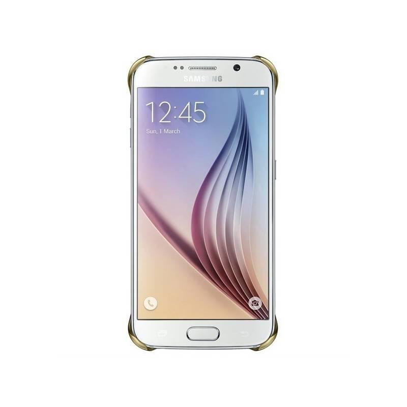 Kryt na mobil Samsung pro Galaxy S6 (EF-QG920BF) (EF-QG920BFEGWW) zlatý