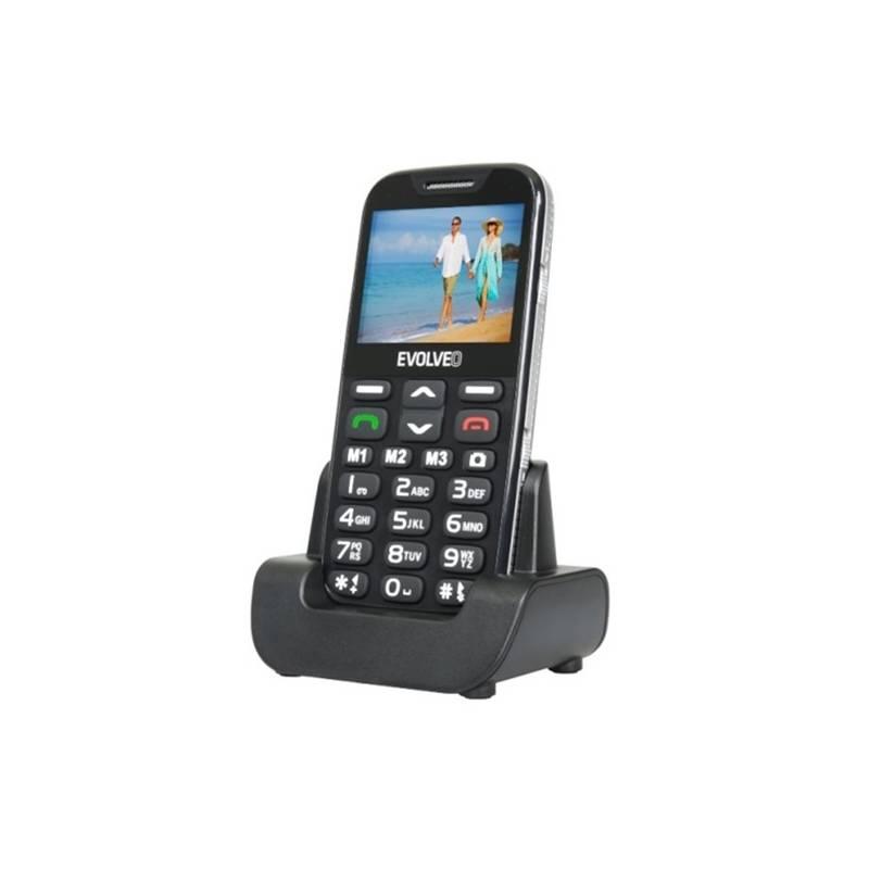 Mobilný telefón Evolveo EVOLVEO EasyPhone XD pro seniory (EP-600-XDB) čierny Software F-Secure SAFE, 3 zařízení / 6 měsíců (zdarma)