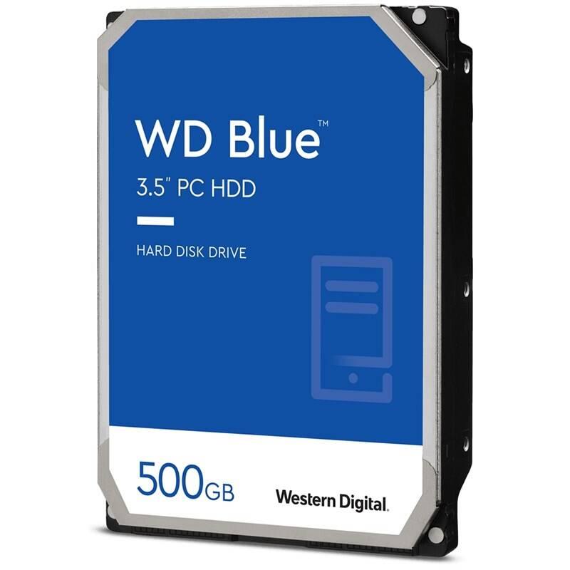 """Pevný disk 3,5"""" Western Digital Blue 500GB (WD5000AZLX)"""