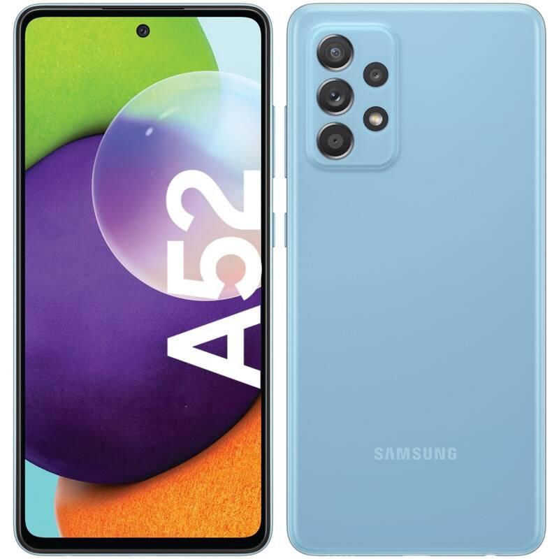 Mobilný telefón Samsung Galaxy A52 128 GB (SM-A525FZBGEUE) modrý