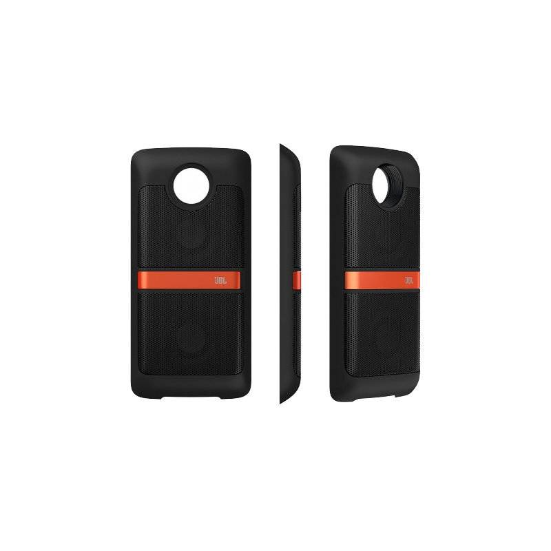 Kryt na mobil Motorola Mods Reproduktor JBL SoundBoost (ASMCNRTBLKEU) čierny