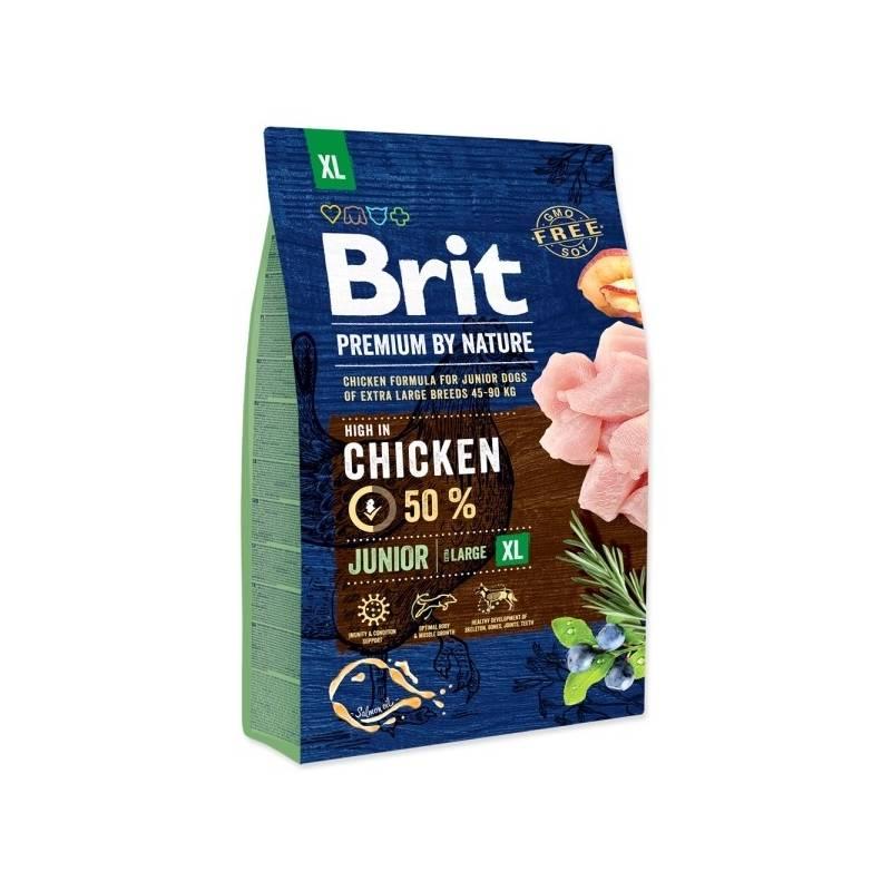 Granule Brit Premium Dog by Nature Junior XL 3 kg