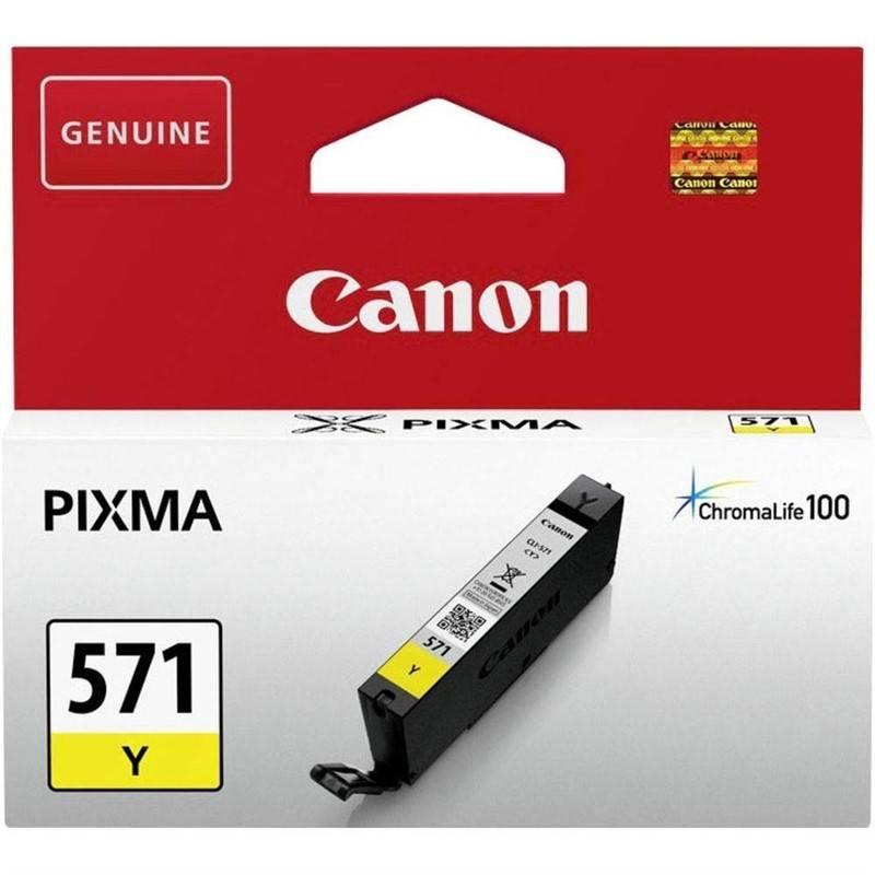 Cartridge Canon CLI-571Y (0388C001) žltá
