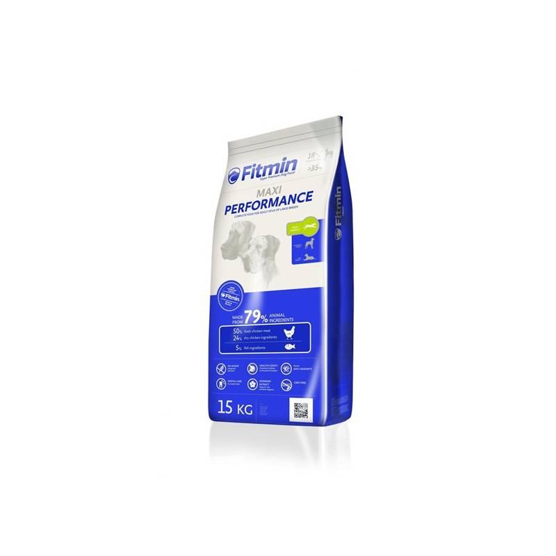 Granule FITMIN dog Maxi Performance - 15 kg Antiparazitní obojek Scalibor Protectorband pro psy - 48 cm