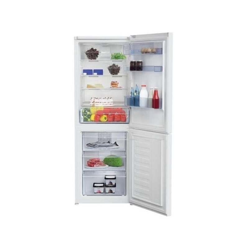 Kombinácia chladničky s mrazničkou Beko RCNA 340 K30W biela + Doprava zadarmo