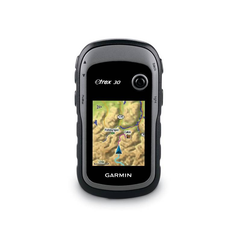 Navigačný systém GPS Garmin eTrex 30x, východní Evropa (010-01508-12) čierna/sivá