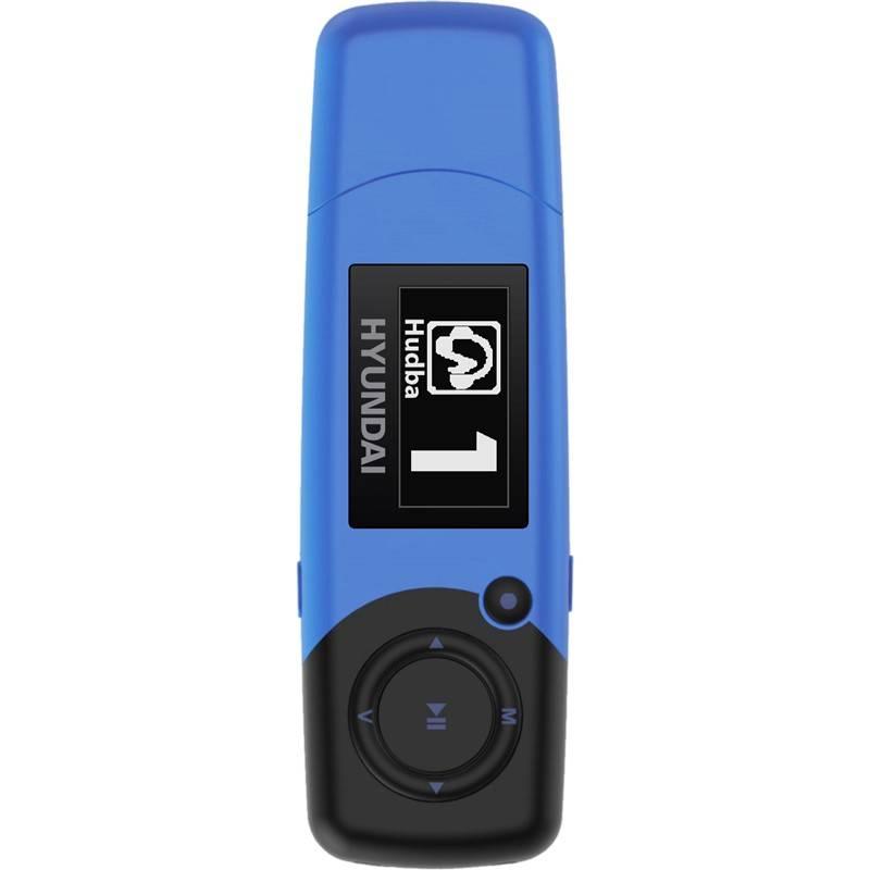 MP3 prehrávač Hyundai MP 366 GB4 FM BL modrý