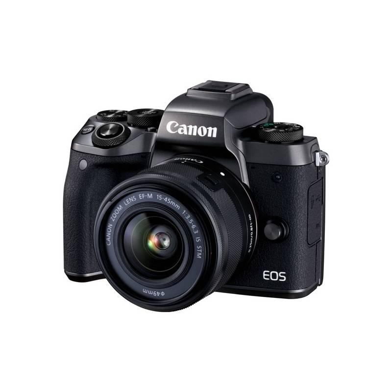 Digitálny fotoaparát Canon EOS M5 + EF-M 15-45mm IS STM čierny