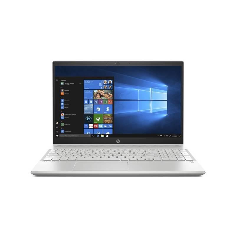 Notebook HP Pavilion 15-cw0009nc (4DJ36EA#BCM) strieborný + Doprava zadarmo