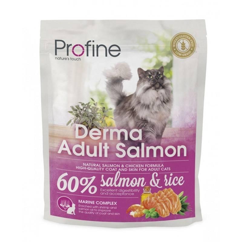 Granule PROFINE Cat Derma Adult Salmon 300g