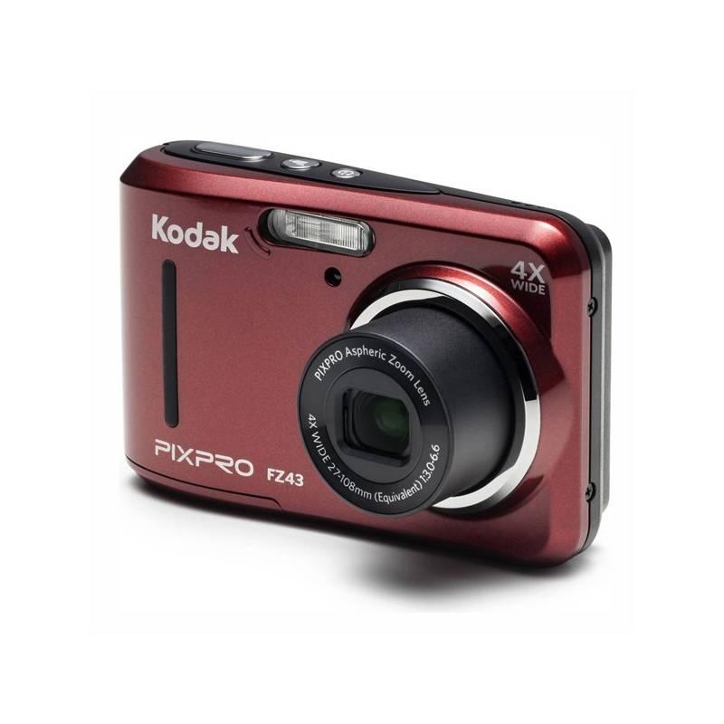 Digitálny fotoaparát Kodak Friendly Zoom FZ43 (819900012439) červený