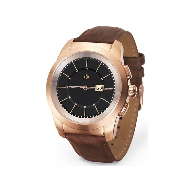 5354814826 Chytré hodinky MyKronoz ZeTime Premium 39 mm (KRONOZ-TI-PR-G B-39)  hnedý zlatý