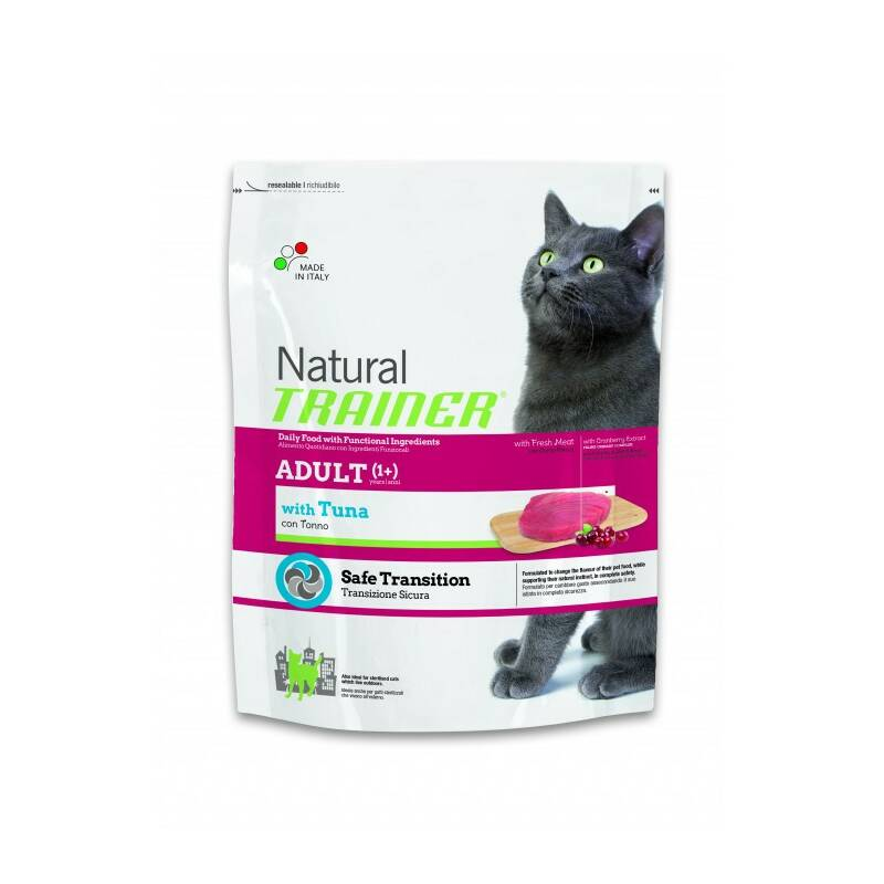 Granuly Trainer Natural Cat Adult tuňák 1,5kg