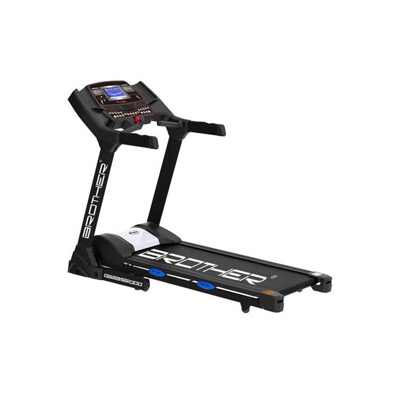 Bežecký pás Brother GB5000 čierny + Závěsný posilovací systém Acra (popruhy) v hodnote 78.40 € + Doprava zadarmo