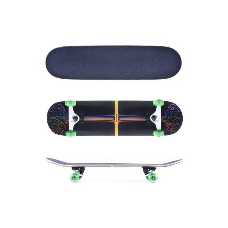 Skateboard Spokey FLOYD 80 x 19,7 cm, ABEC 5 carbon + Doprava zadarmo