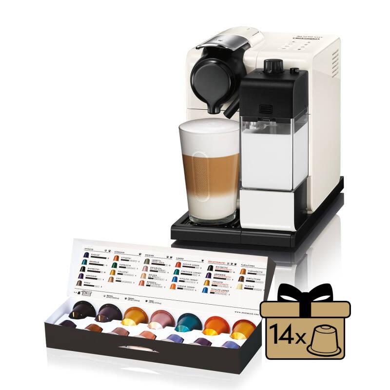 Espresso DeLonghi Nespresso Lattissima Touch EN550.W biele