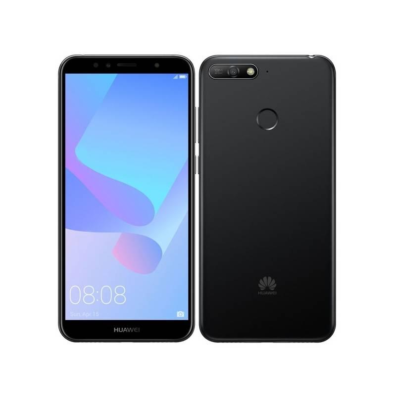 Mobilný telefón Huawei Y6 Prime 2018 Dual SIM (SP-Y6P18DSBOM) čierny Power Bank Forever 10000 mAh 2xUSB - šedá/bílá (zdarma)Software F-Secure SAFE, 3 zařízení / 6 měsíců (zdarma)Kryt na mobil Huawei Y6 Prime (2018) - průhledný (zdarma)