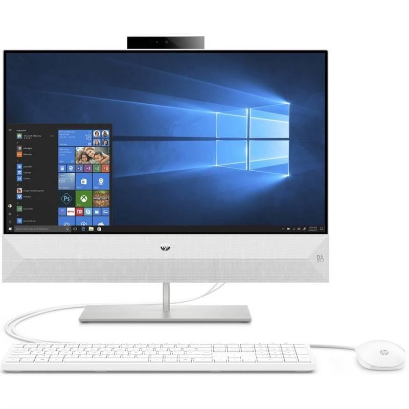 Počítač All In One HP Pavilion 24-xa0005nc (6AT53EA#BCM) bílý