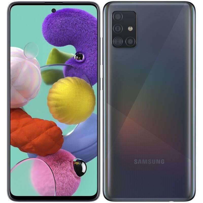 Mobilný telefón Samsung Galaxy A51 (SM-A515FZKVEUE) čierny + Doprava zadarmo