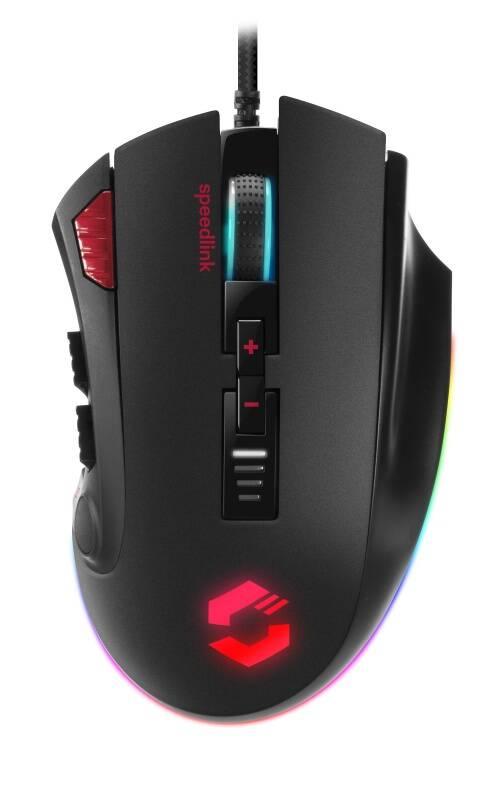 Myš Speed Link Tarios RGB (SL-680012-BK) černá
