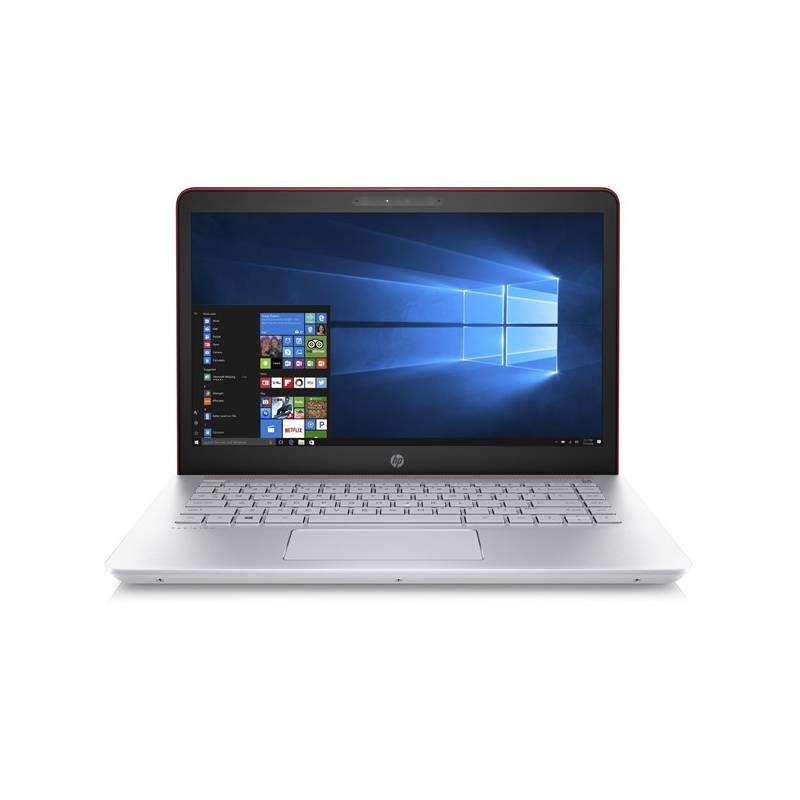 Notebook HP Pavilion 14-bk006nc (1UY60EA#BCM) strieborný/červený Software F-Secure SAFE, 3 zařízení / 6 měsíců (zdarma) + Doprava zadarmo