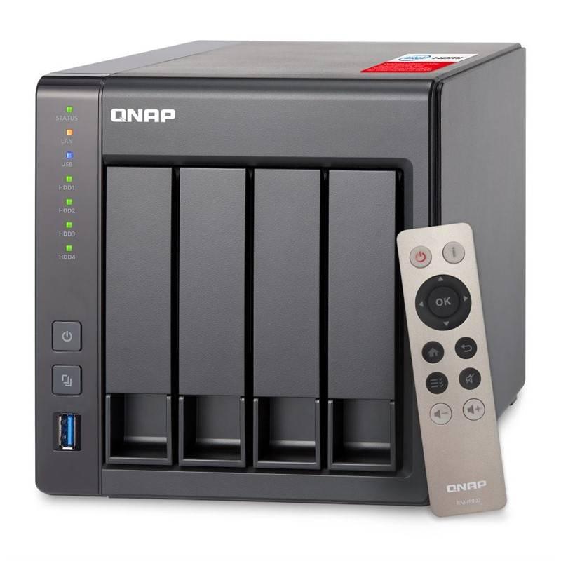 Datové uložiště (NAS) QNAP TS-451+ 2G (TS-451+-2G) černé