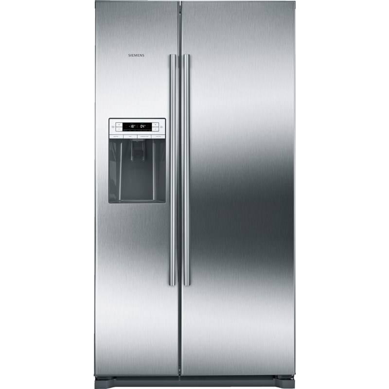 Americká lednice Siemens KA90DVI30 nerez