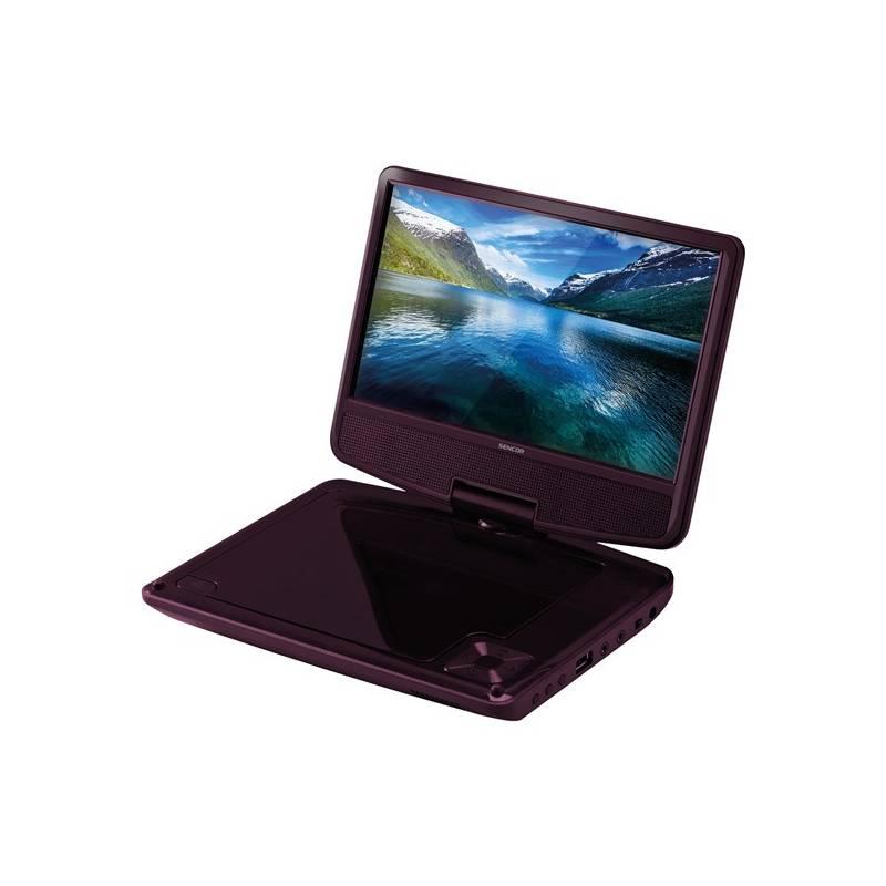 DVD prehrávač Sencor SPV 2920 DARK ROSE (35048604)