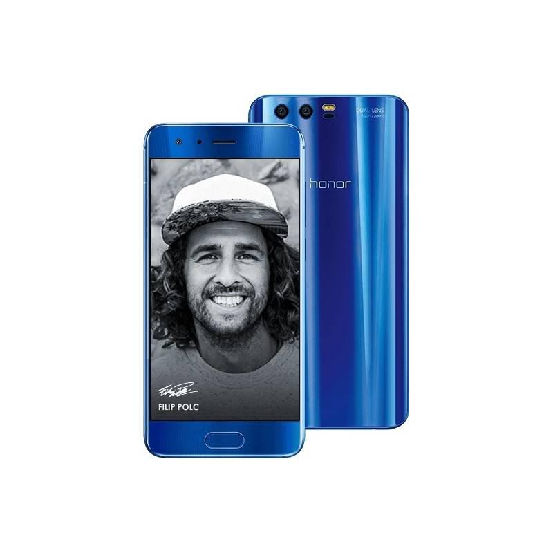 Mobilný telefón Honor 9 Dual SIM 64 GB (51091TBG) modrý Software F-Secure SAFE 6 měsíců pro 3 zařízení (zdarma) + Doprava zadarmo