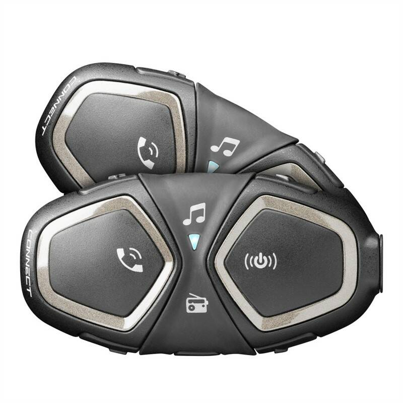 Handsfree Interphone CellularLine Connect Twin Pack (INTERPHOCONNECTTP)