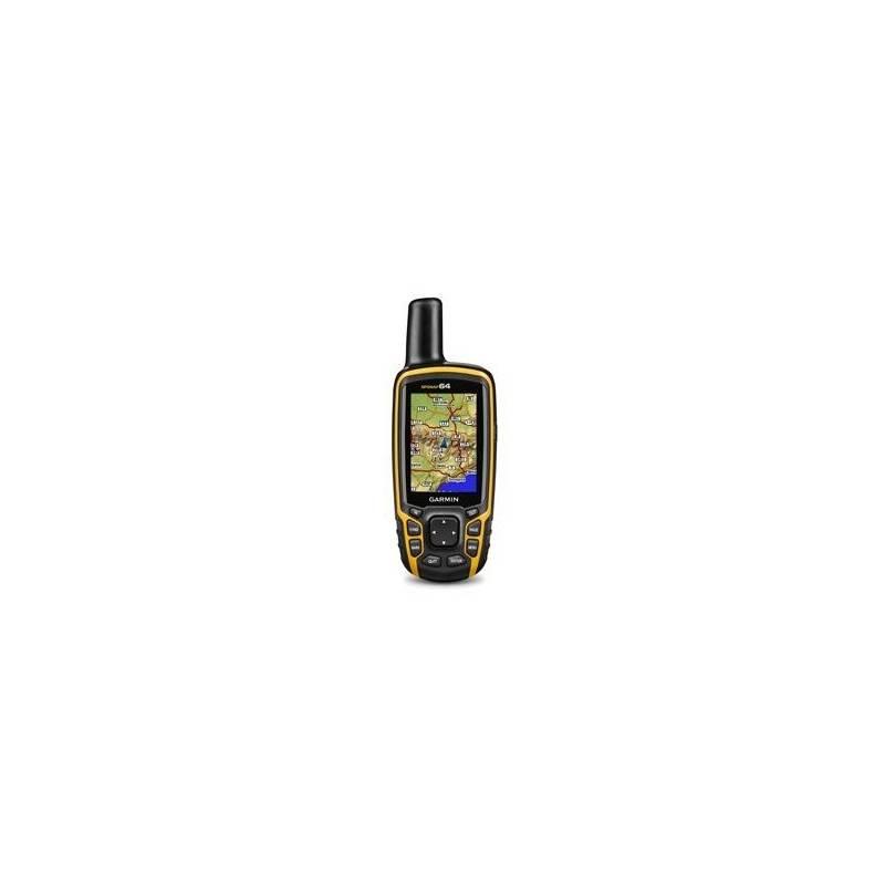 Navigačný systém GPS Garmin GPSmap 64 + SK TOPO (010-01199-00) čierna/žltá