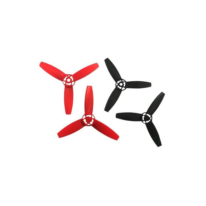 Parrot Bebop Drone sada vrtulí, červeno/černé